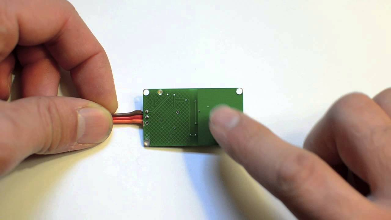 Capacitive Touch Proximity Sensing Switch Youtube