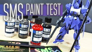 1581 SMS Paint Test