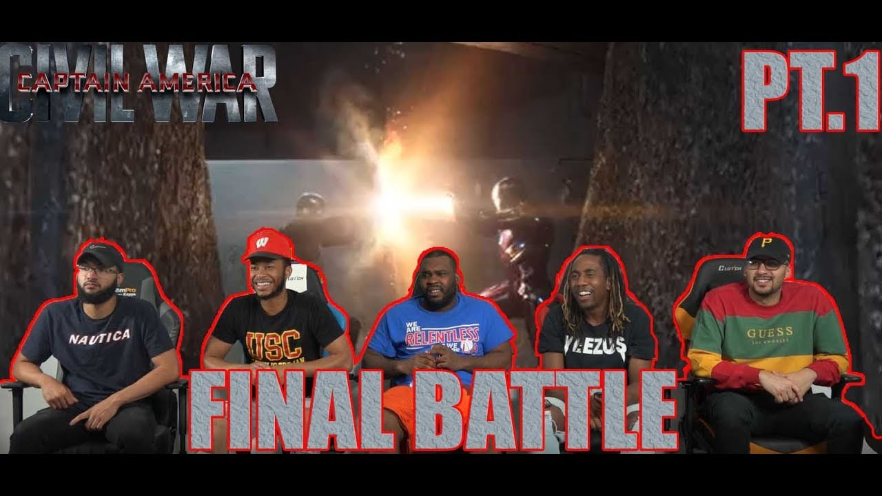 Download Captain America Civil War: Iron Man Vs. Captain America And Winter Soldier PT.1 REACTION