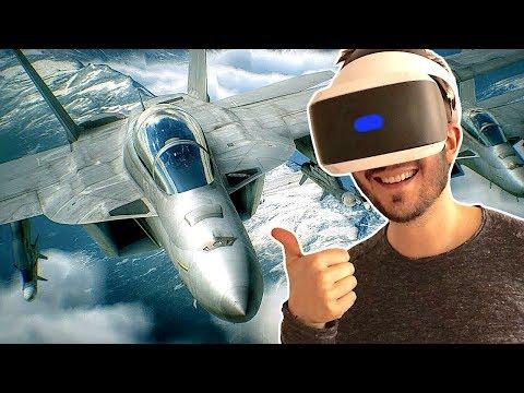 ACE COMBAT 7 m'a retourné la tête sur PLAYSTATION VR