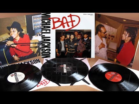 Michael Jackson - Bad (Full Album Vinyl -192khz)