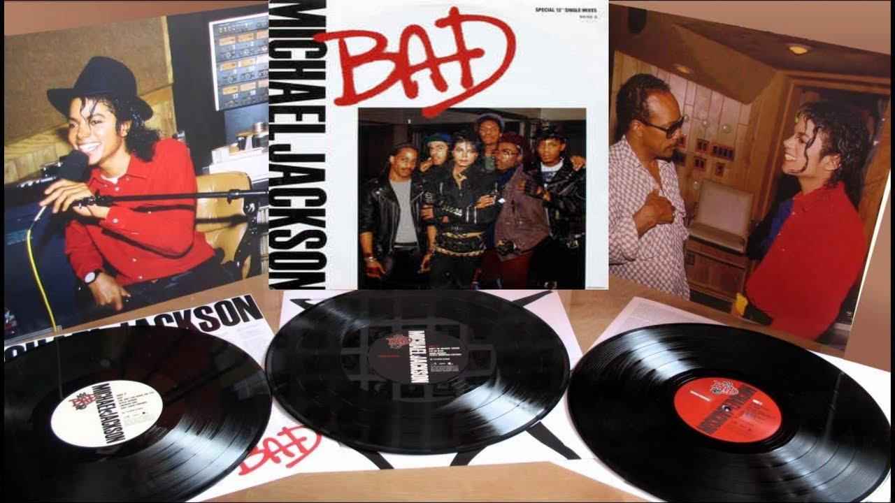 Michael Jackson Bad Full Album Vinyl Khz YouTube - Vinylboden nassraum