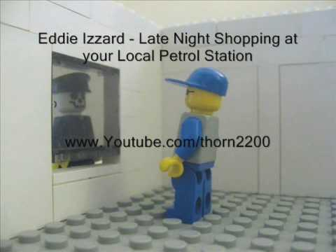 Eddie Izzard- Late Night Petrol Station Shopping