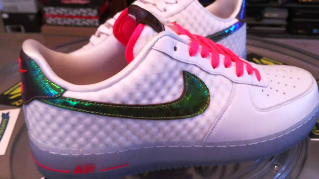 low priced 241e2 83559 ... Nike Air Force 1 Low Comfort Premium QS - Metallic Gold Hyper Punch -  5- ...