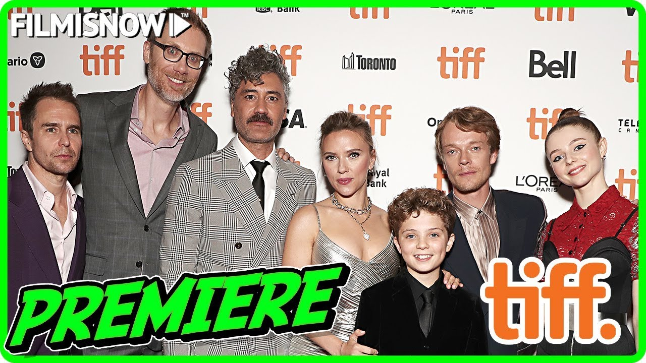 JOJO RABBIT | Toronto International Film Festival (TIFF) red carpet & cast interview