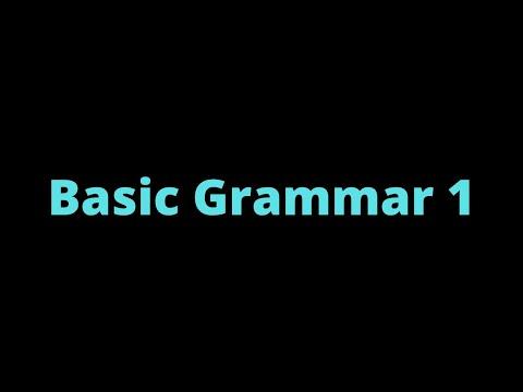 (13) Basic Grammar 1 | Samoan