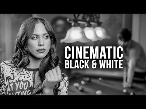 How to Light Black and White