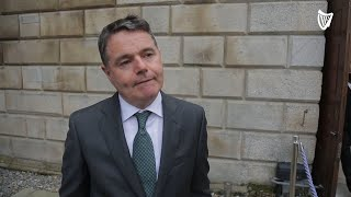 Paschal Donohoe discusses rising cost of living after Budget 2022 announcement