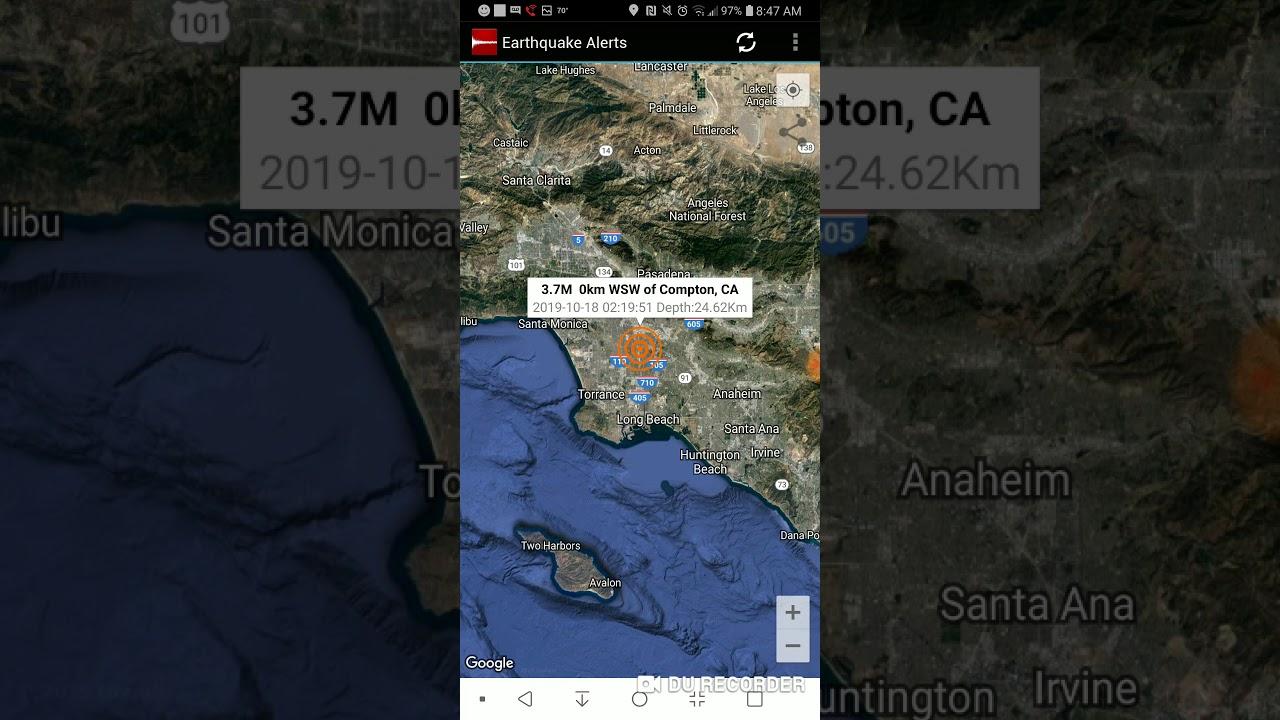 Magnitude 3.7 Earthquake Centered Near Baldwin Hills Rattles SoCal
