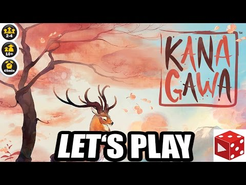 Kanagawa - Let's Play & Regeln - Bruno Cathala, Charles Chevallier - (Iello 2016)