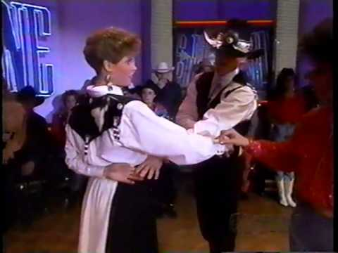 Bob and Sarah Bahrs Country Dance Exhibitions on Club Dance