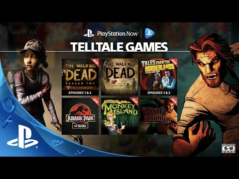 Telltale Games on PlayStation Now Subscription