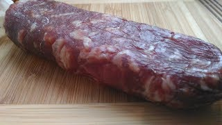 как приготовить сырокопченую колбасу, рецепт How to cook raw sausage, recipe
