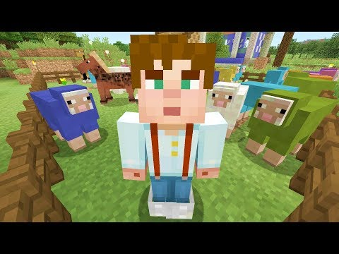 Minecraft Xbox - My Story Mode House - Sheep On The Run