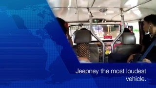 Gambar cover Jeepney the most loudest vehicle