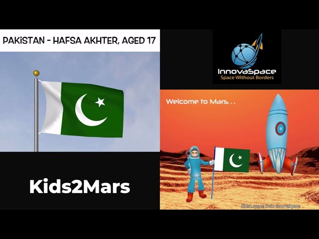 ENG Kids2Mars | Pakistan - How will you decontaminate radiation from Mars?