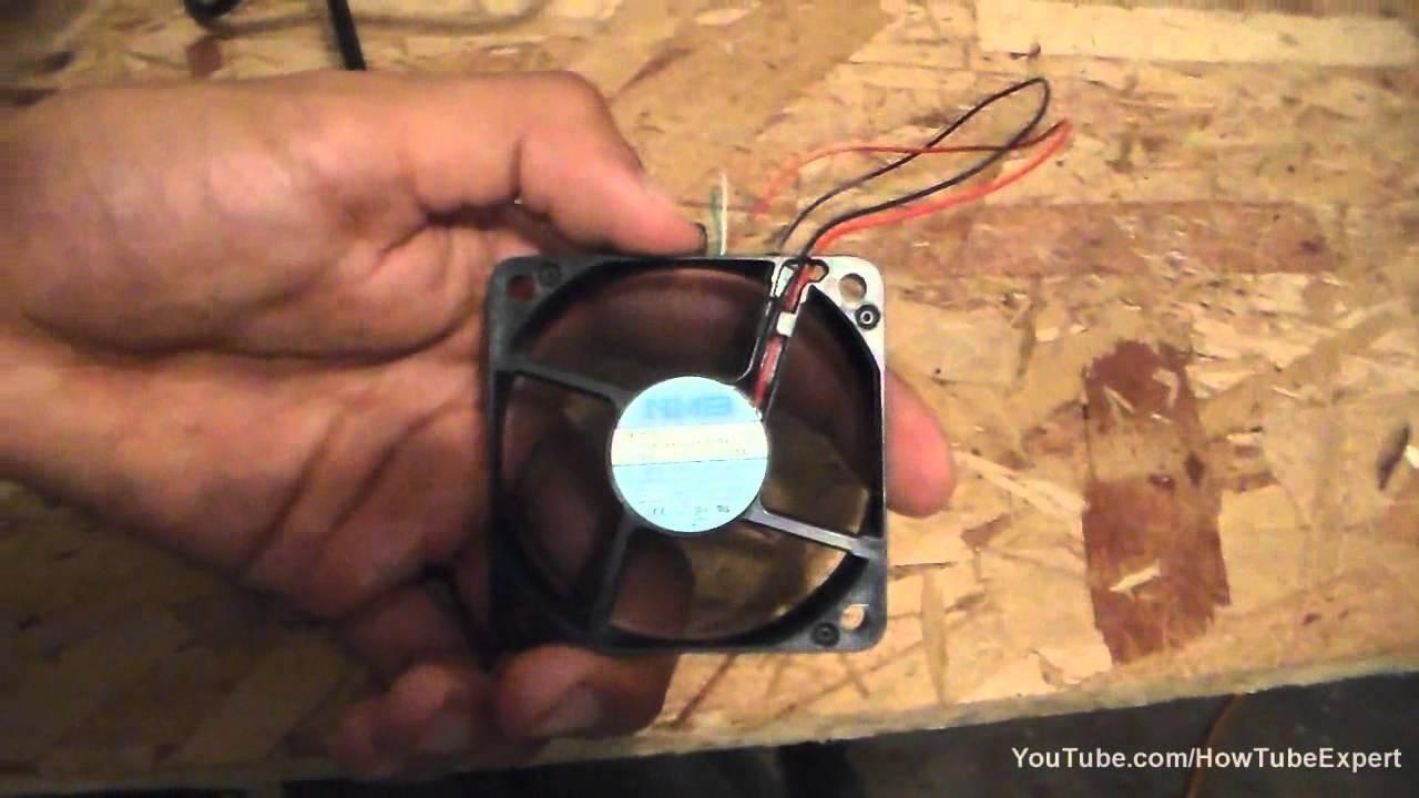 medium resolution of how to power a computer fan via usb