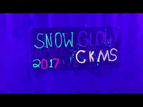 SNOW GLOW 2017 at Cross Keys middle school