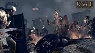 Total War Rome II Empire Divided Gameplay (PC)