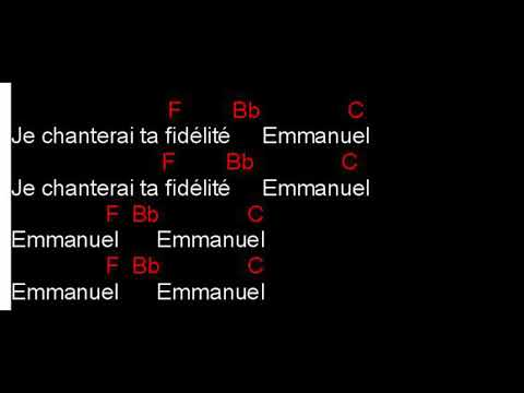 EMMANUEL Cèdre KATAMBAYI (paroles & accords)