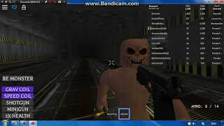 The most frightened game of ROBLOX (Survive area51)