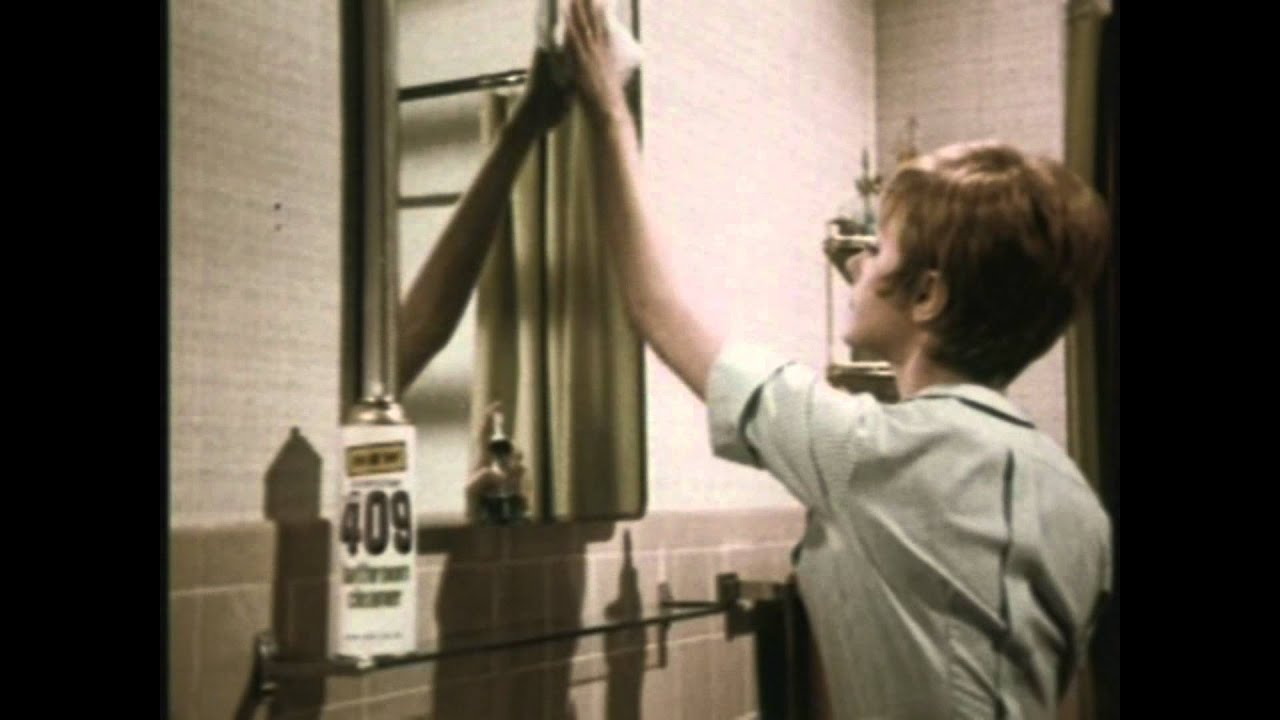409 bathroom cleaner commercial 1960s youtube for Commercial bathroom cleaner