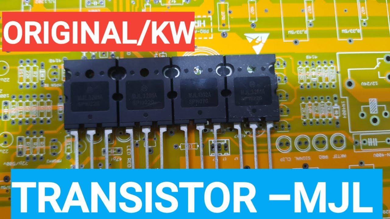 Transistor MJL...analisa ASli atau PALSU