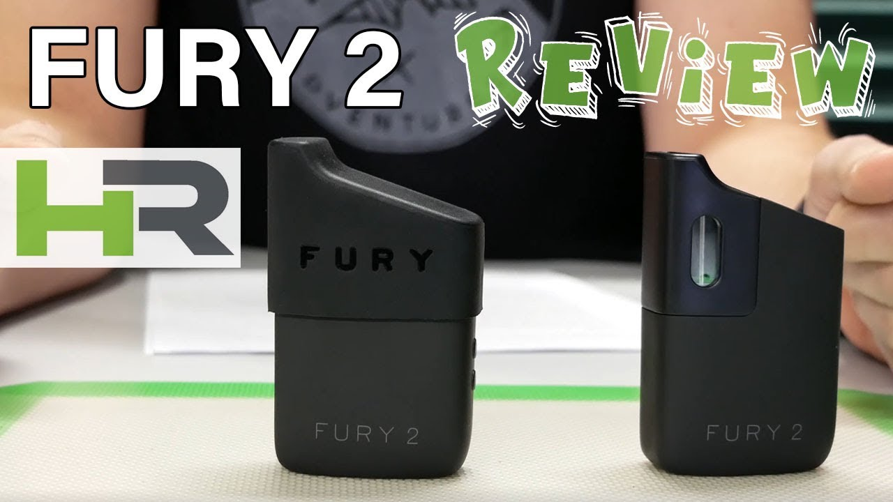 Fury 2 vaporizer review - Healthy Rips - PuffItUp