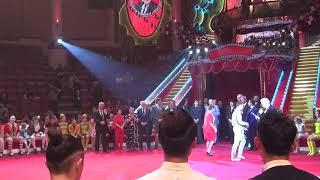Церемония награждения лауреатов 18-го циркового фестиваля в цирке Никулина 2019