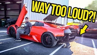 My Fast & Furious Lamborghini Gets The LOUDEST Straight Pipe Exhaust In The WORLD! (RIP HEADPHONES)