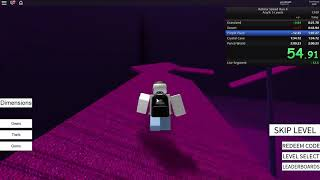 Roblox Speed Run 4 - Any% 5 Levels 1:59:935