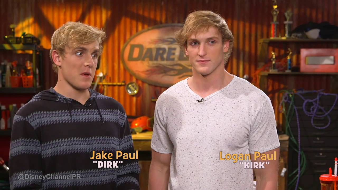 Jake Paul And Logan Paul On Bizaardvark Behind The Scenes Youtube