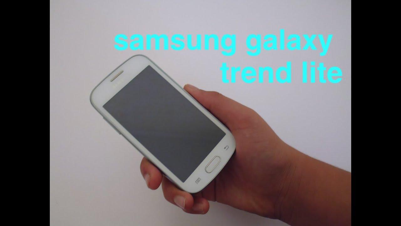 Samsung galaxy trend lite recensione youtube - Samsung galaxy trend lite appareil photo ...
