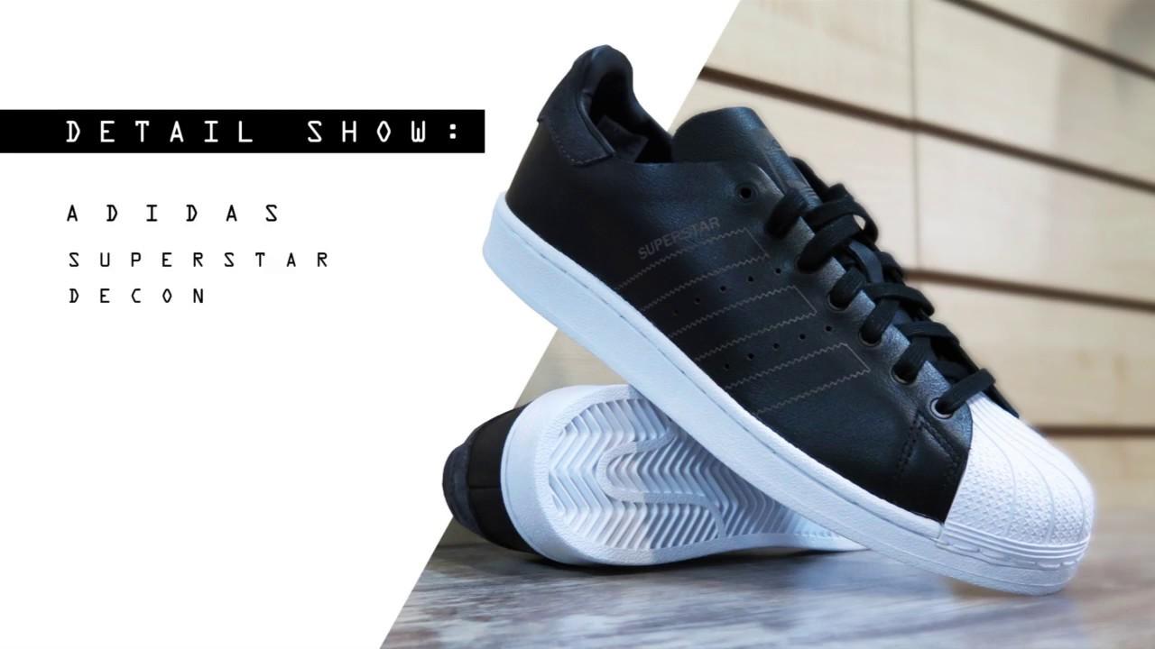 Detail show Adidas Superstar Decon - Back Wash
