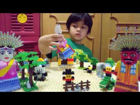 MAINAN ANAK   LEGO + ONDEL ONDEL