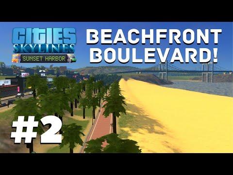 SEASIDE EXPANSION! | Cities Skylines: Sunset Harbor REBOOT #2 |