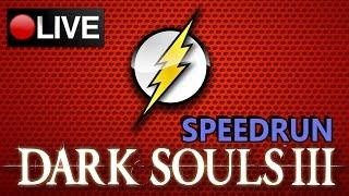 DARK SOULS III - TREINANDO SPEEDRUN - Any% NoTearDrop - 1:54:18