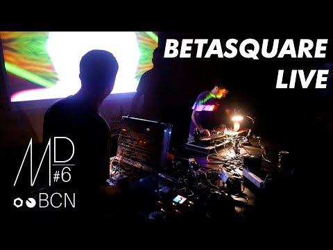 "Betasquare - live modular ""acid pop rave electro polka"" // Modular Day Bareclona #6"