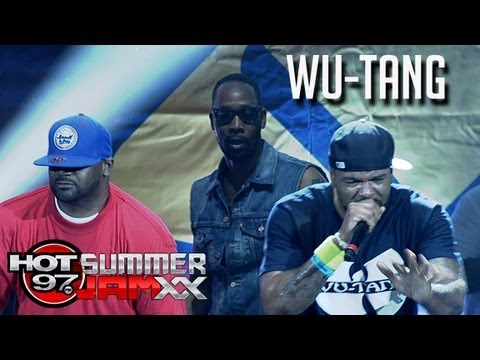 "Wu-Tang  performs ""TRIUMPH"" Live at Hot97 Summer Jam XX"