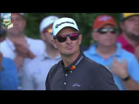Justin Rose's Great Golf Shot Highlights 2017 Masters Tournament Augusta