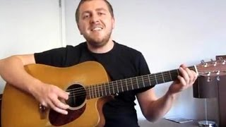 Guitar Lesson - Chasing Cars (Easy Version) - Part 1 - Learn Guitar in London