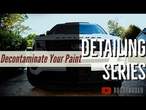 How to Decontaminate Your Paint: BoostRodeo Detailing 01
