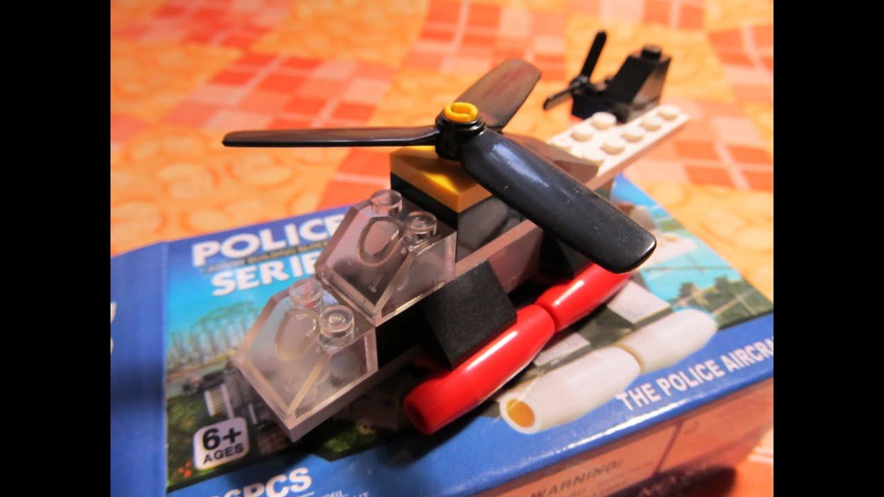 инструкция lego полицейский вертолет