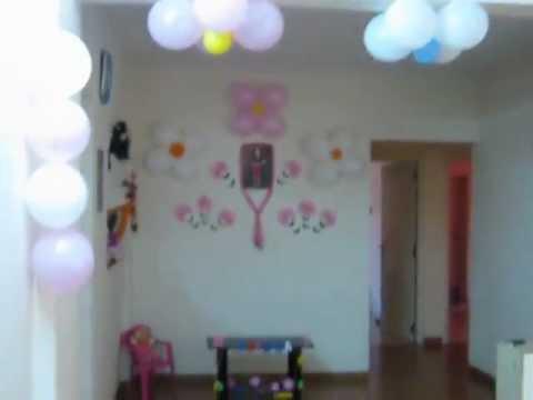 Birthday Decoration Idea At Home For My 2 Yr Old Princess Prisha