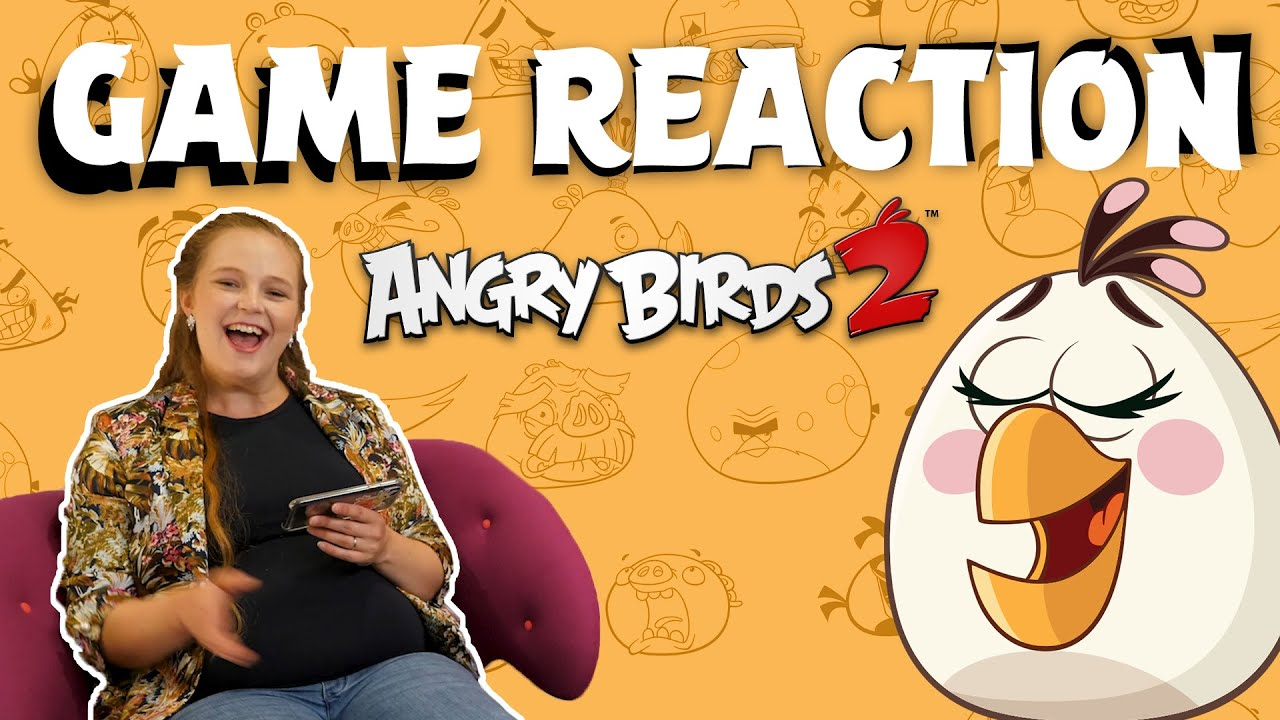 Angry Birds Game Reaction | Mom to be Emilia vs. Angry Birds 2