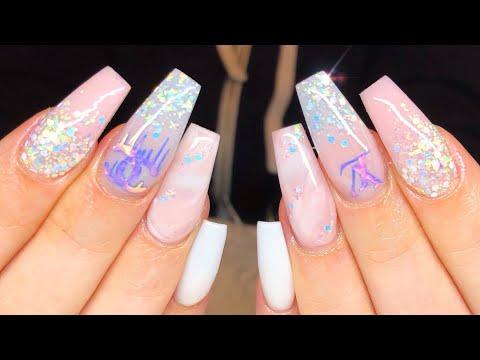 Chanel Vs Louis Vuitton | acrylic nail tutorial thumbnail