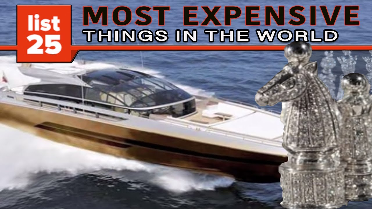 60b21753a3d6 25 MOST EXPENSIVE Things In The World - YouTube