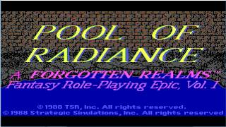Advanced Dungeons & Dragons, Pool of Radiance