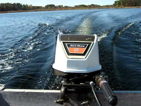1969 Sea King 6hp Outboard Motor