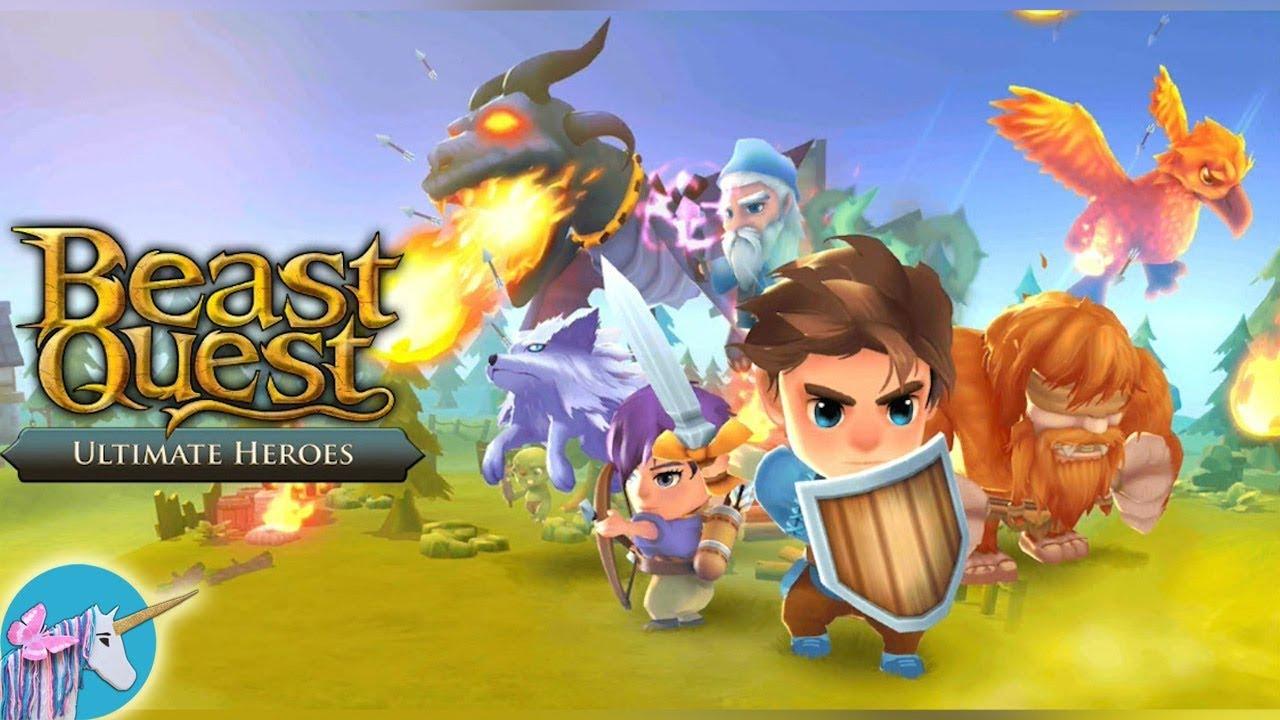 beast quest ultimate hero gameplay  youtube
